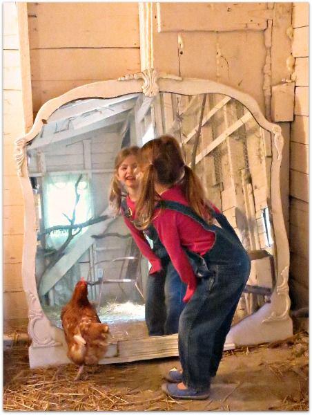 Shabby Chic Chicken Coop