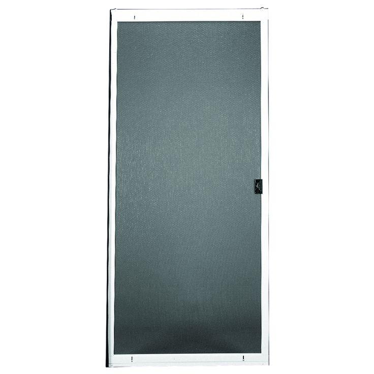 ritescreen steel sliding screen door common 30in x 80in