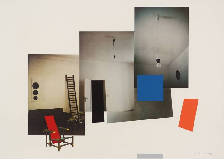 Richard Hamilton 'Interior with monochromes', 1979 © The estate of Richard Hamilton