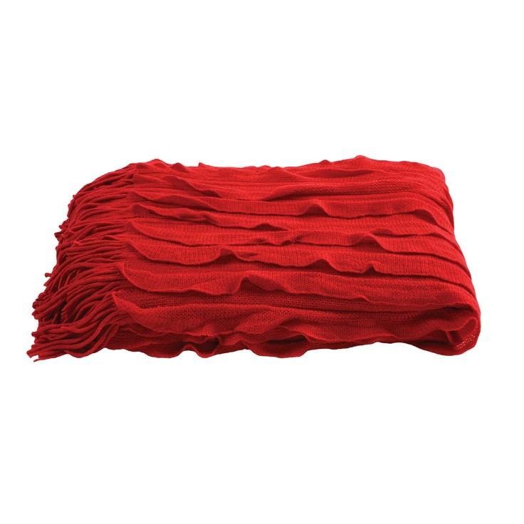 Dare Gallery - Ripple Throw Red