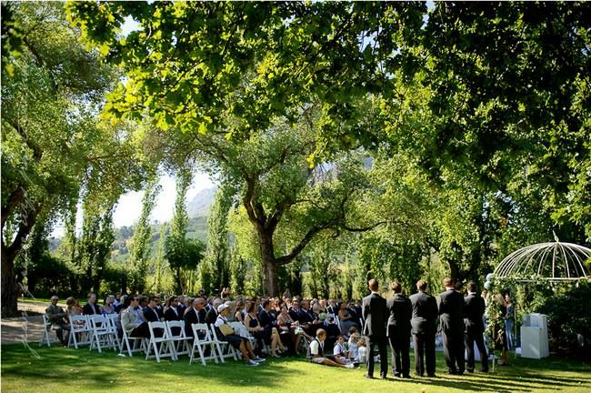 20 Garden & Outdoor Wedding Venues, Cape Town