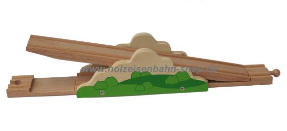 Wippenschiene für die Holzeisenbahn - starke-kindersachen
