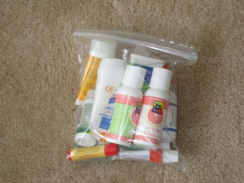 Great tips from professional organizer Beth Zeigler on how to make packing for a trip a smooth process