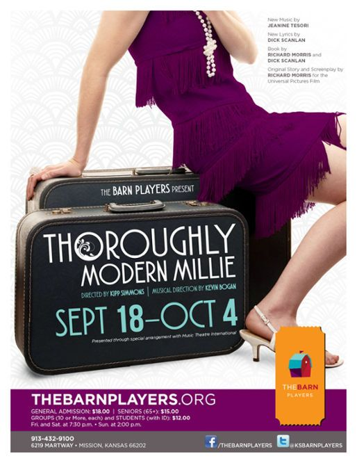 Thoroughly Modern Millie. The Barn Players. 2015   Theatre ...