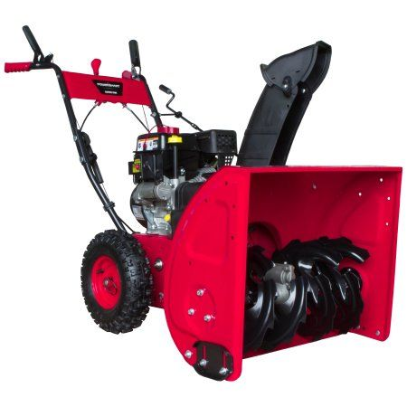 Manufacture Refurbished DB7651-24 in. 208cc 2-Stage Electric Start Gas Snow Blower
