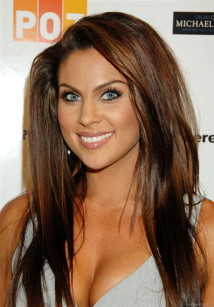 Nadia Bjorlin. Light golden brown hair. Natural makeup. Tan. Perfect!
