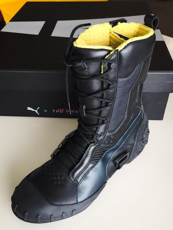 Check Out These Metal Gear Solid 5 Sneaking Boots Being Made by Puma - GameSpot