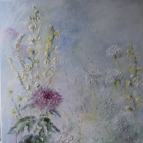 Cassie Barwell @cassiebarwell #painting#pastelc...Instagram photo | Websta (Webstagram) flowers