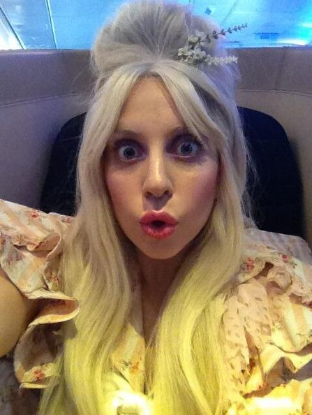 Lady Gaga Flying Hi! | Celebrity News Latest GossipCelebrity News Latest Gossip