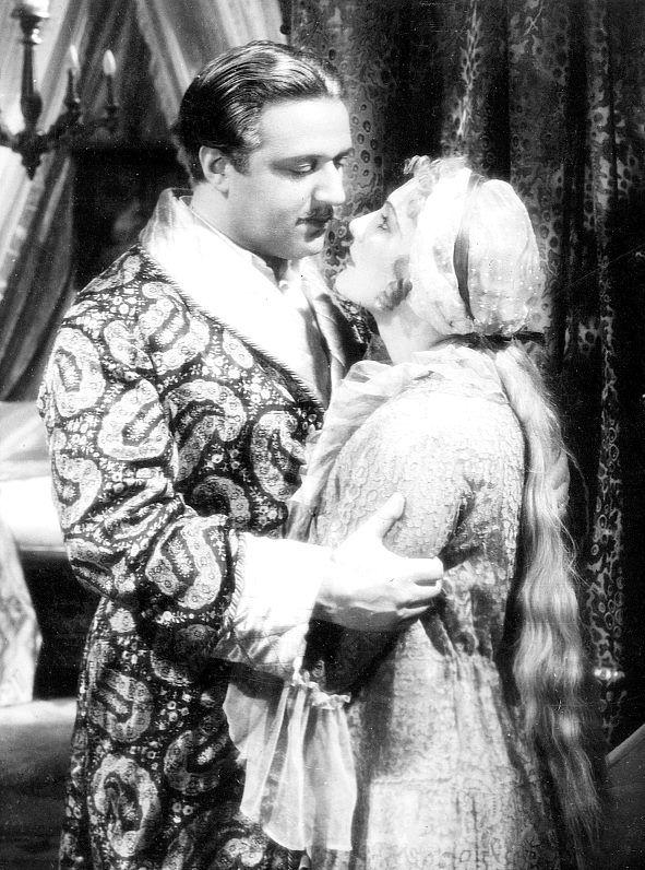 Jedenácté přikázání, 1935 (režie Martin Frič)  Hugo Haas, Jiřina Štěpničková