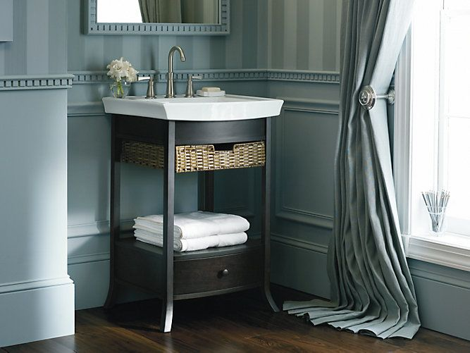 Images Photos Designed to plement the Archer collection the K petite bathroom vanity bines sleek