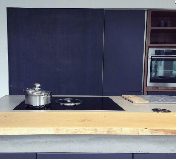 Rohstal / Holz / Beton / Lack - hochwertige Materialien - olina ...