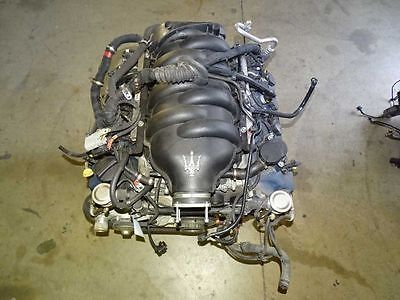 08 MASERATI GRANTURISMO M145 COUPE 4.2L V8 ENGINE MOTOR LONG BLOCK ASSY