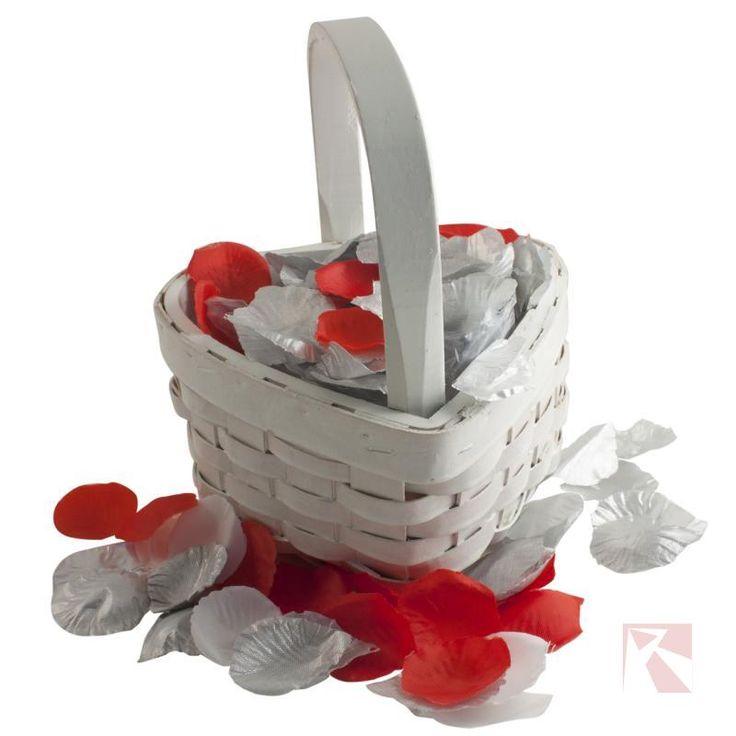 Strooimandje voor rozenblaadjes