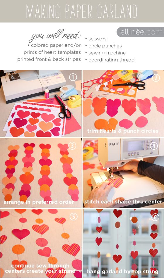 paper garland how-to