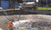 Tank cleaning services by Ormonde Polska. http://www.ormonde.pl/uslugi/czyszczenie-przemyslowe
