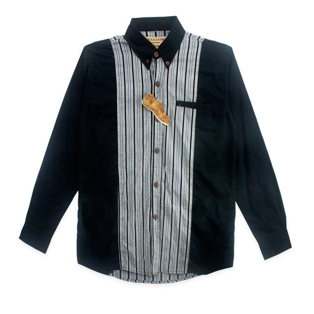 Dear Zebra  Vertical Stripes 2 Tones LS Shirt