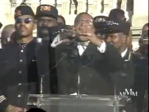 Million Man March marks 20th Anniversary - YouTube