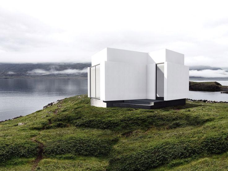 Icelandic inspired house.