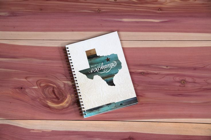 The John Maxwell Company Exchange event in Dallas, TX notebook.