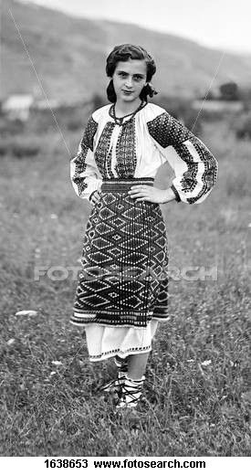 I want a traditional Romanian dress like this one!