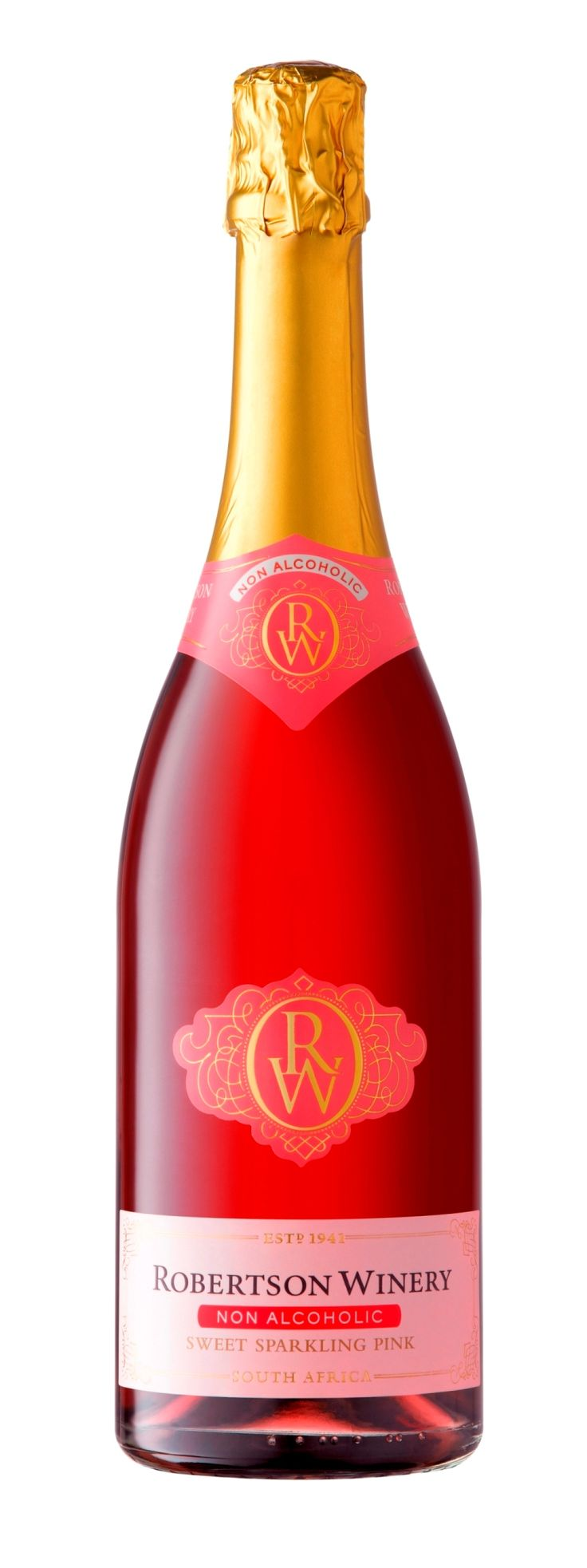 Non Alcoholic Sweet Sparkling Pink