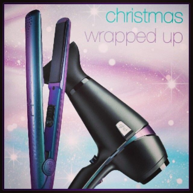 Christmas Wrapped Up, with the new Wonderland styler gift set from ghd! Gift wrapping available in the salon!!