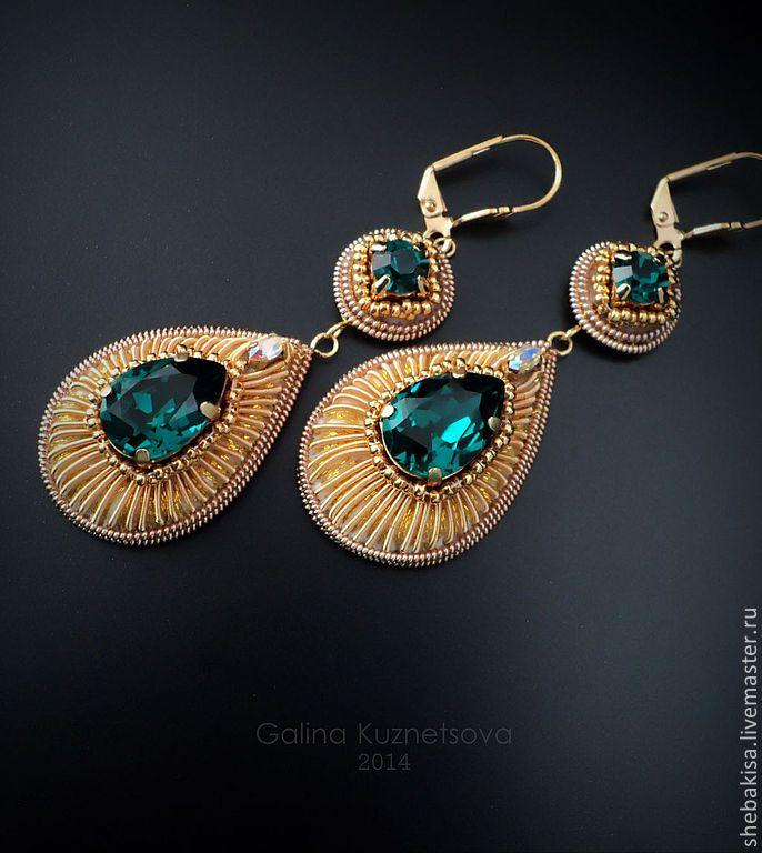 Byzantium. Earrings. Византия. Серьги.