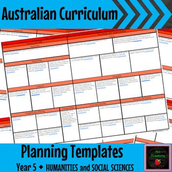 Year 5 Australian Curriculum Planning Templates - HASS - These Australian Curriculum Planning Templates for Year 5 Humanities and Social Sciences (HASS) will make your planning simple and organised. Stay accountable and keep your planning all in one place. This document can be added to throughout the year. This product contains all the Year 5 HASS outcomes presented in two different ways for you to choose from.