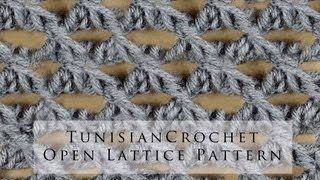 tunisian stitch - YouTube