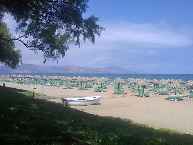 Episkopi beach, Rethymno, Crete, Greece