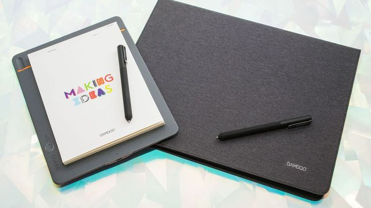Wacom Bamboo Slate and Bamboo Folio smart notepads slowly bridge the digital note-taking divide - CNET
