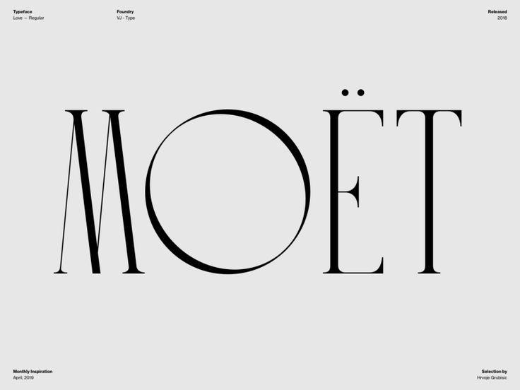 Typography Inspiration April 2019 Font Selection Typography Inspiration Typography Magazine Typography Design