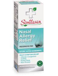 Nasal Allergy Relief   Gentle Nasal Mist   Allergy Treatment   Preservative Free   Similasan USA
