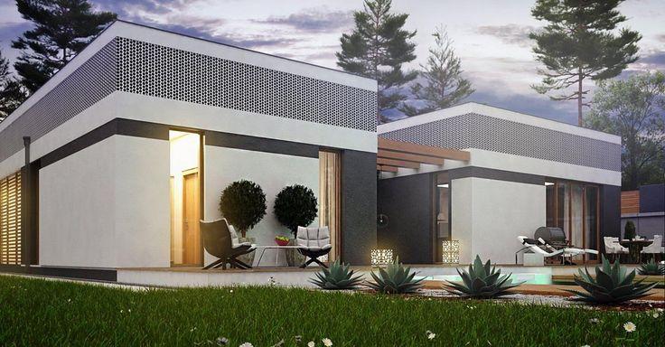 Projekt domu SZ5 Zx119 - DOM OZ9-02 - gotowy projekt domu