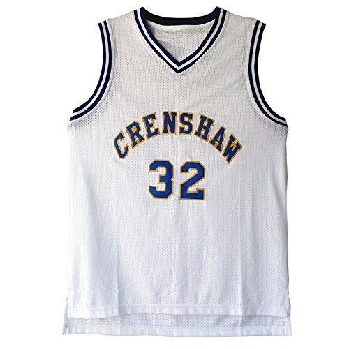 MOLPE Monica Wright 32 Crenshaw High School Basketball Jersey S-XXXL White - http://basketballjerseys.nationalsales.com/molpe-monica-wright-32-crenshaw-high-school-basketball-jersey-s-xxxl-white/