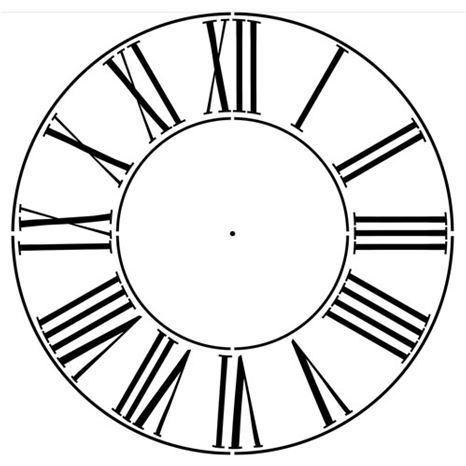 Fabulous image intended for roman numeral stencil printable