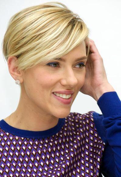 Scarlett Johansson 2014 Short Hair Scarlett Johansson Hairstyles