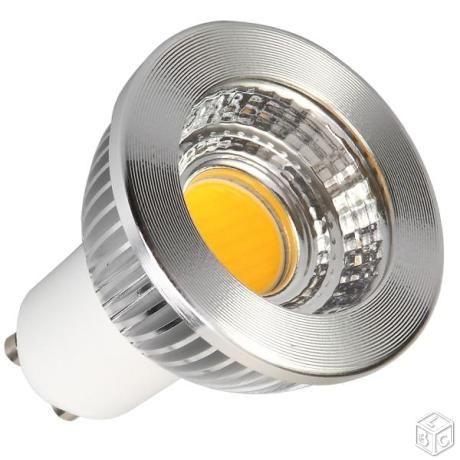 Spots LED GU10 NEUF COB en 5W