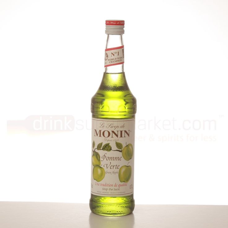 Monin Apple French Flavour Syrop Syrup 70cl