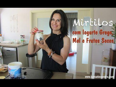Luisa Alexandra: Mirtilos com Iogurte, Mel e Frutos Secos • VÍDEO