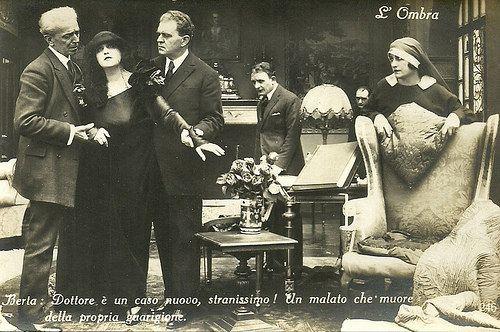 Italia Almirante Manzini in l'Ombra 1923