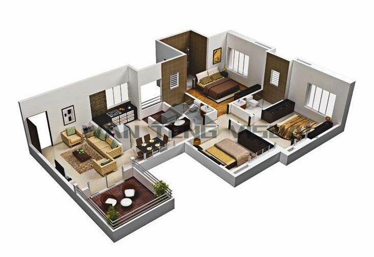 How To Design Floor Plans 3d And 3d Flooring Plan Prices Floor Plan Design Online Home Design House Floor Plans