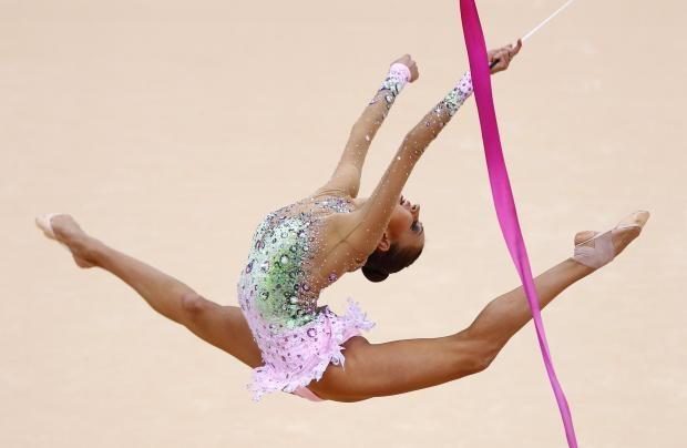 rhytmic gymnastic costume