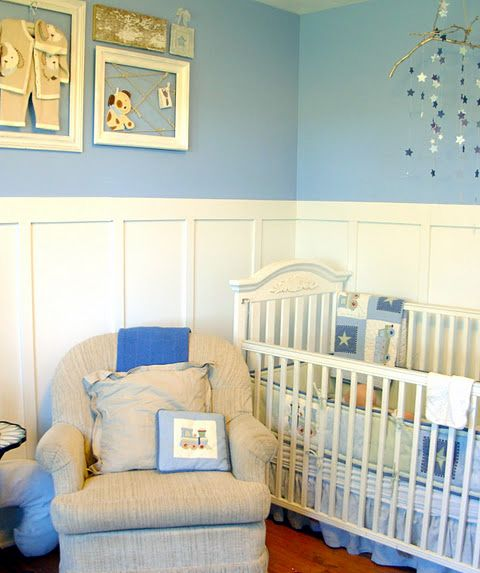 A Blue Nursery Can Be Ideal For Baby Boys And Girls, Especially When You  Stick