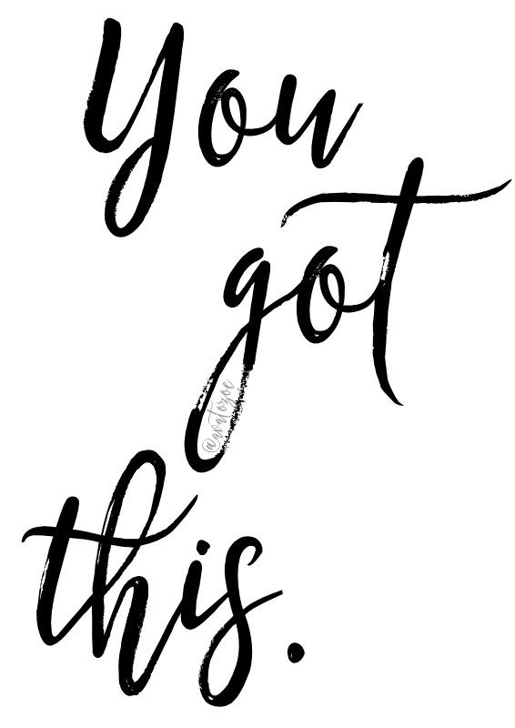 You Got This Printable Download