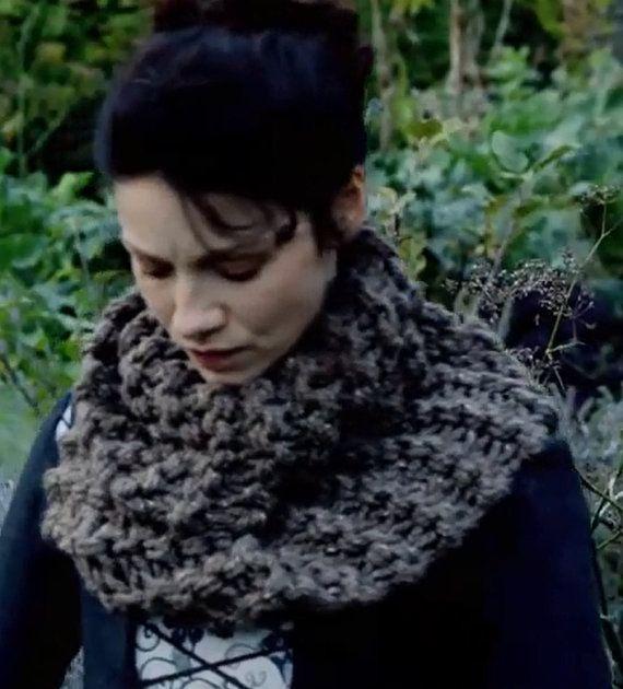 Mobius main tricot Outlander inspiré de Claire de cheminée dans l                                                                                                                                                                                 Plus