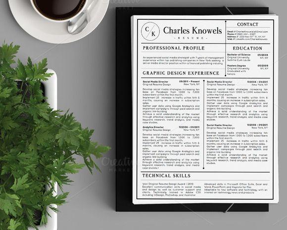105 best Resume Templates images on Pinterest Resume, Creative - professional resume folder