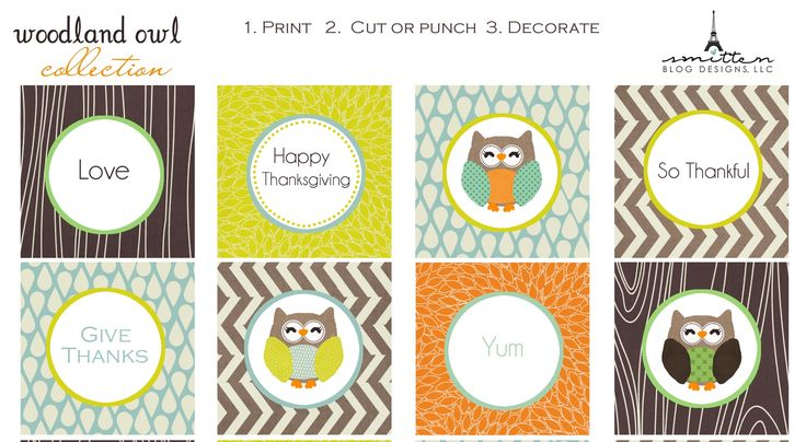 Website with a lot of seasonal free printables all in one spot. Really cute stuff!