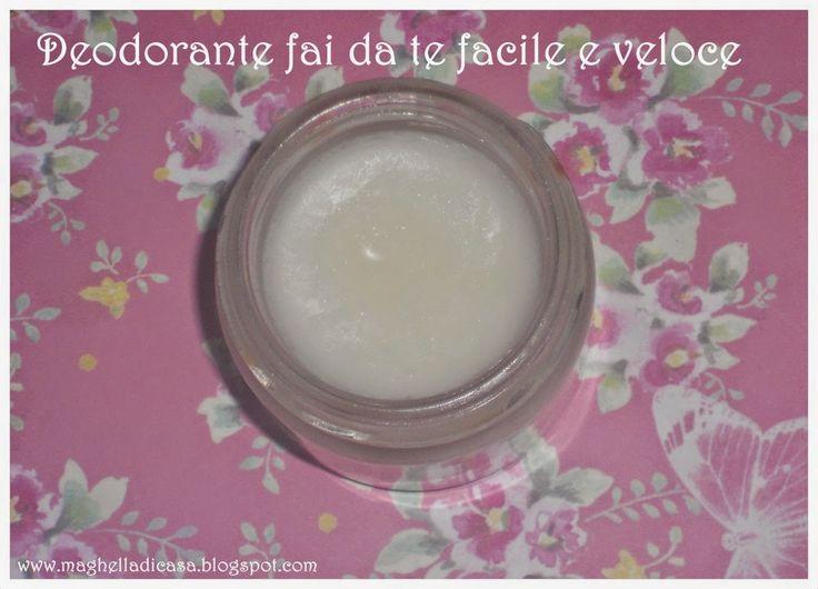 Deodorante fai da te facile e veloce